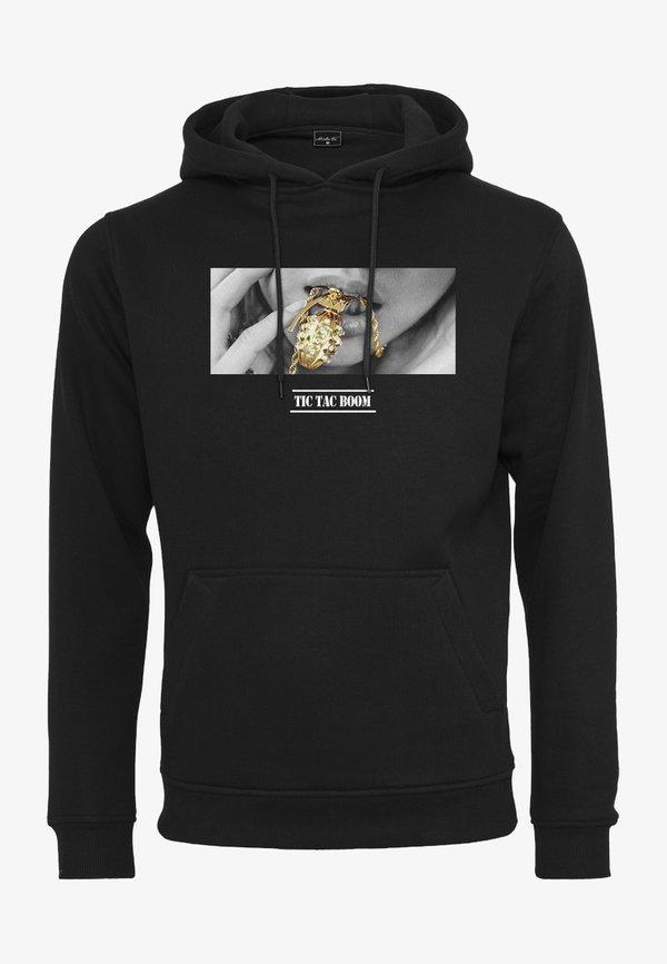 Mister Tee BOOM - Bluza z kapturem - black/czarny Odzież Męska WAUT