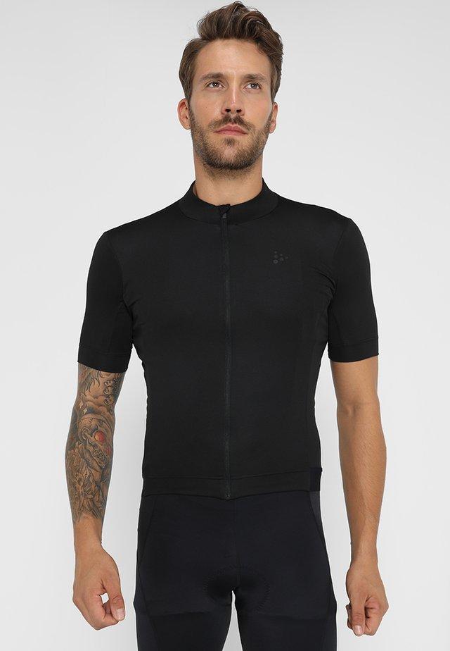 ESSENCE - T-shirt imprimé - black