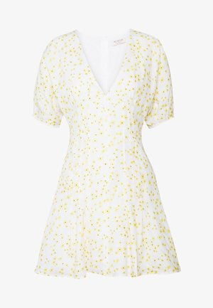 WILD DAISY MINI DRESS - Korte jurk - off white