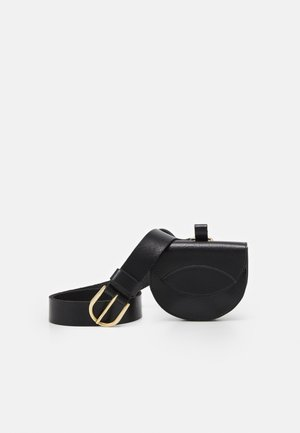 2-IN-1 - Waist belt - black