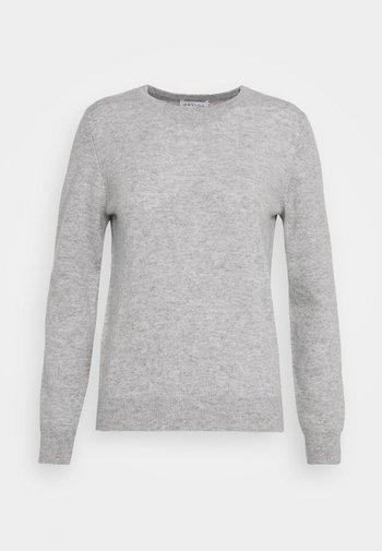 BASIC SWEATER - Jumper - light grey