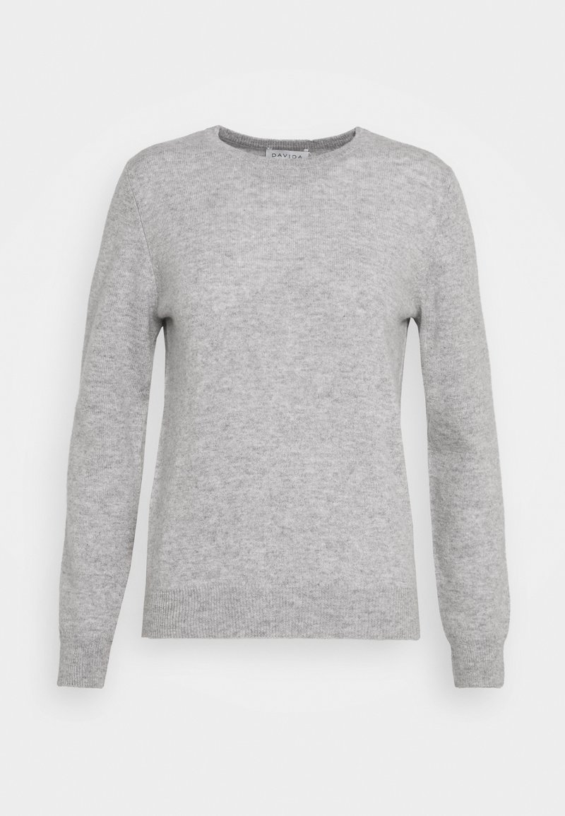 Davida Cashmere - BASIC - Jumper - light grey