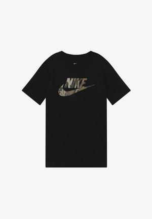 TEE FUTURA CAMO - Print T-shirt - black