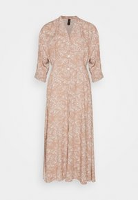 YAS - YASCORNA LONG DRESS - Skjortekjole - tawny brown - 4