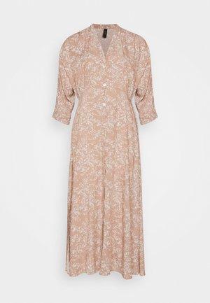 YASCORNA LONG DRESS - Shirt dress - tawny brown