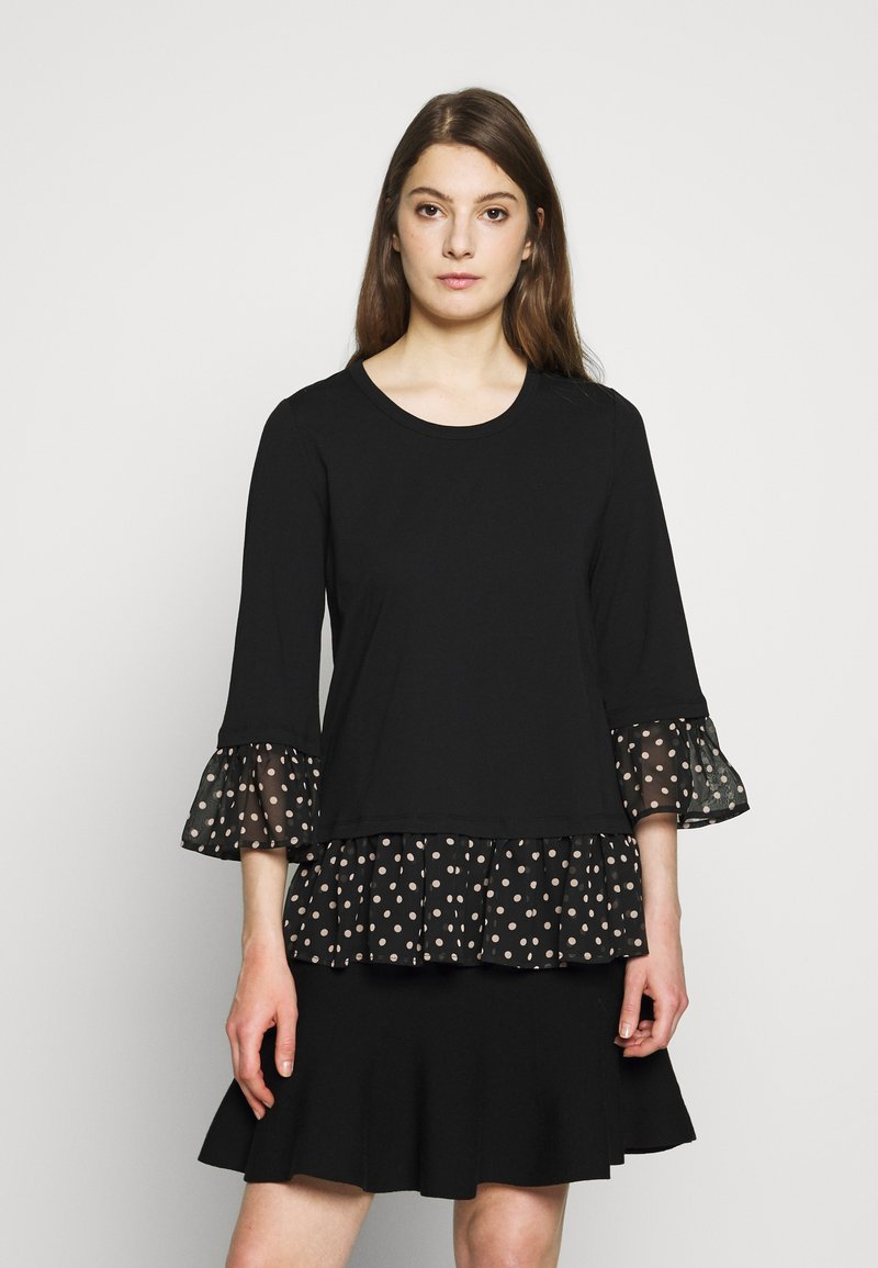 Steffen Schraut - OLIVIA LOVELY  - Long sleeved top - black