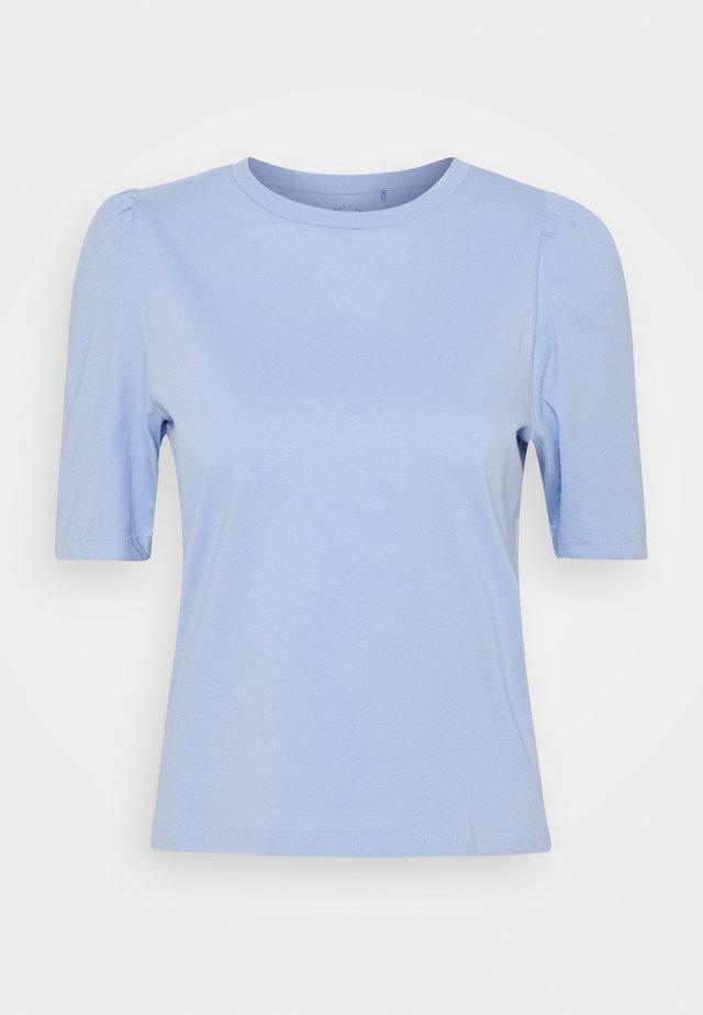 ONLNORA PASTEL LIFE TEE - Basic T-shirt - blue heron