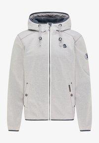 Schmuddelwedda - Outdoor jacket - hellgrau melange - 4