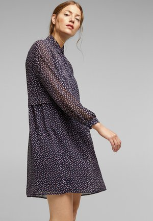 FASHION - Shirt dress - navy