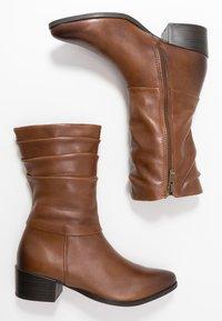 Marco Tozzi - Boots - cognac antic - 3