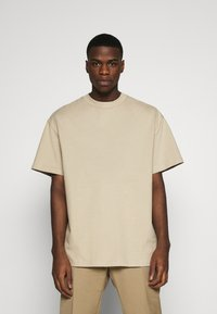 Weekday - GREAT - T-shirt - bas - beige - 0