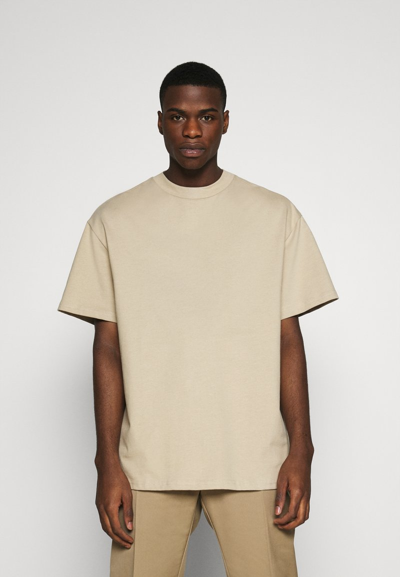 Weekday - GREAT - T-shirt - bas - beige