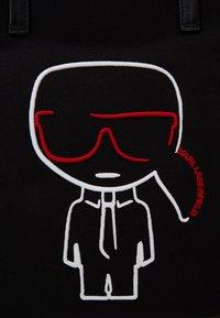 KARL LAGERFELD - IKONIK OUTLINE - Shopping Bag - black - 4