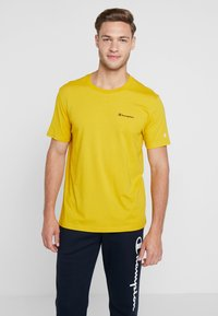 Champion - CREWNECK - T-shirt basic - mustard yellow - 0