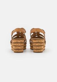 Gabor - Platform sandals - cognac - 3