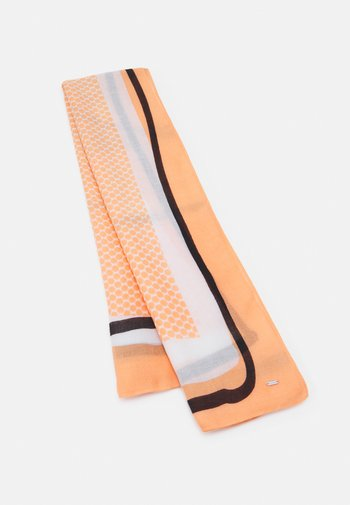 AYOGI SCARF - Scarf - orange peel