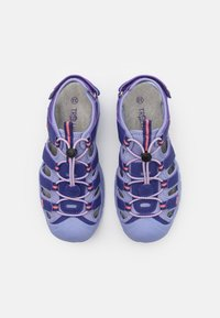 TrollKids - KIDS KVALVIKA UNISEX - Walking sandals - dark purple/lavender - 3