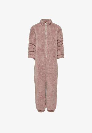 TEDDY - Jumpsuit - light brown, mottled pink