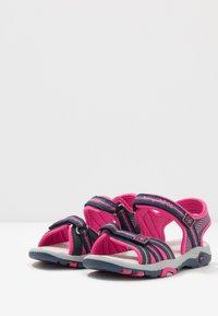 KangaROOS - K-LANE - Walking sandals - dark navy/daisy pink - 3