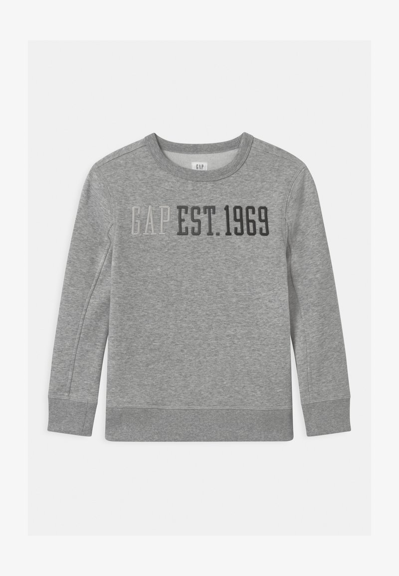 GAP - BOY LOGO CREW - Sweater - light heather grey