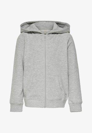 Sweat à capuche zippé - light grey melange