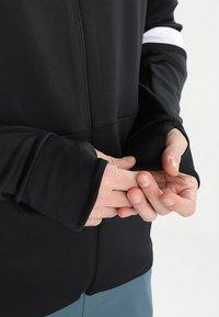 Hummel - TECH MOVE ZIP HOOD - Training jacket - black - 4
