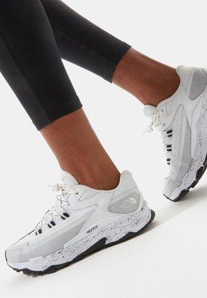 VECTIV TARAVAL - Hiking shoes - TNF White-TNF Black