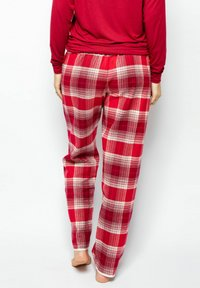 Cyberjammies - Pyjama bottoms - red chks - 2