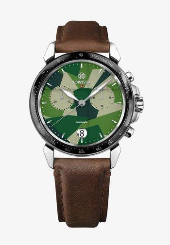 LEWY  SWISS  - Chronograph watch - grün