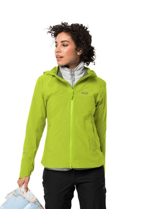 Outdoor jacket - bright lime