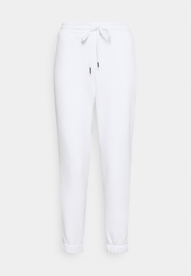 NMPERCY PANT - Jogginghose - bright white