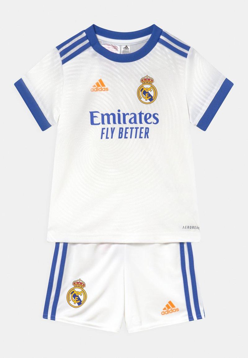 adidas Performance - REAL MADRID H BABY UNISEX - Klubové oblečení - white