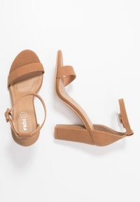 Rubi Shoes by Cotton On - SAN LUIS - High heeled sandals - tan - 3