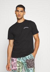 Carhartt WIP - UNIVERSITY SCRIPT  - Basic T-shirt - black/white - 0
