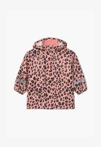 Lindex - SMALL KIDS - Vodotěsná bunda - pink - 0