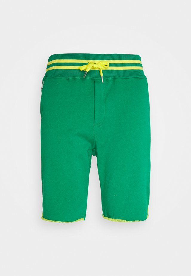 Tracksuit bottoms - green/yellow