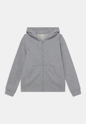 UNISEX - Felpa con zip - grey melange