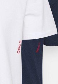 HUGO - TWIN 2 PACK - Tílko - dark blue/white - 4