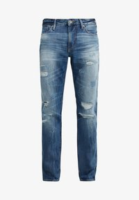 Emporio Armani - Džíny Slim Fit - denim blu - 4