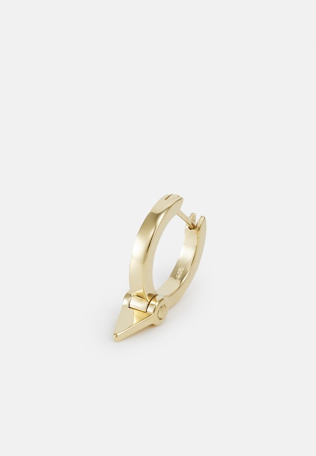 TRIAN HUGGIE UNISEX - Boucles d'oreilles - gold-coloured