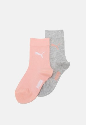 EASY RIDER JUNIOR 4 PACK UNISEX - Socks - coral