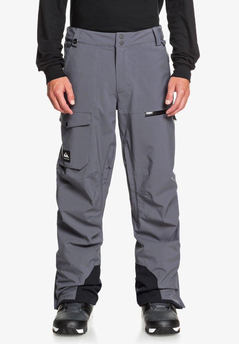 Quiksilver - Snow pants - iron gate