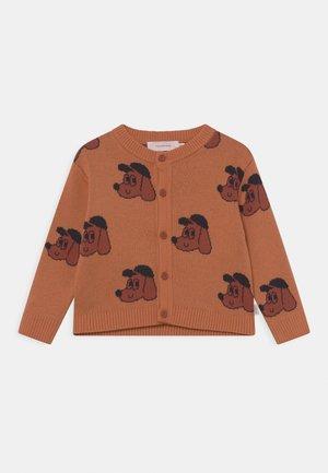 DOG BABY UNISEX - Cardigan - true brown/dark copper