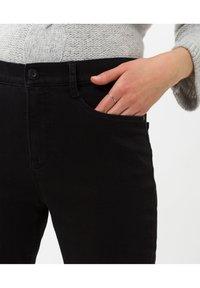 BRAX - STYLE MARY - Slim fit jeans - clean black black - 3