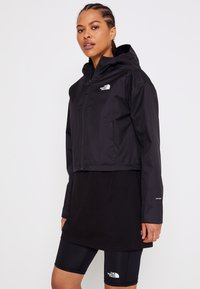 The North Face - CROPPED QUEST JACKET  - Hardshell jacket - black - 0