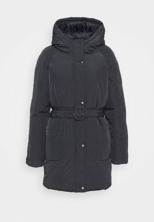 ONLSYDNEY BELTED PUFFER - Winter coat - blue graphite