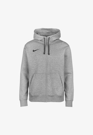 PARK 20  - veste en sweat zippée - dark grey heather / black