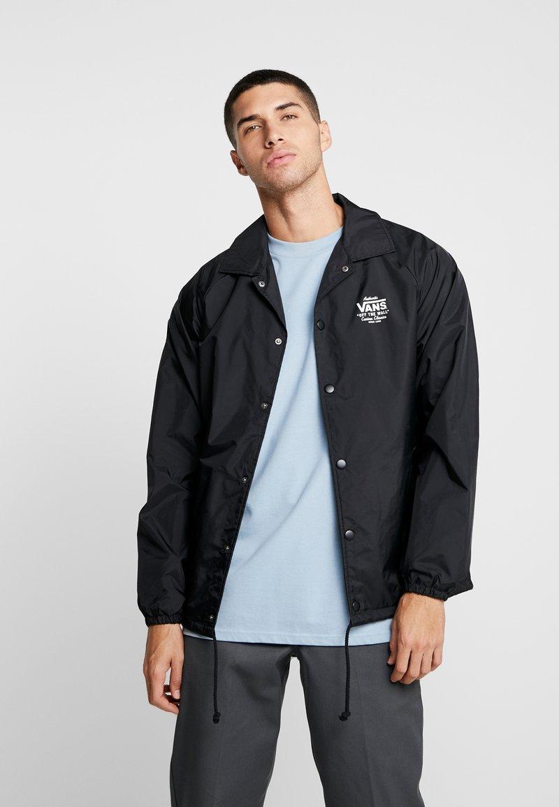 Vans - TORREY - Summer jacket - black/white