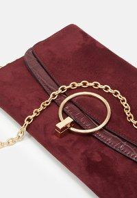 New Look - REESE RING DETAIL - Clutch - dark burgundy - 3