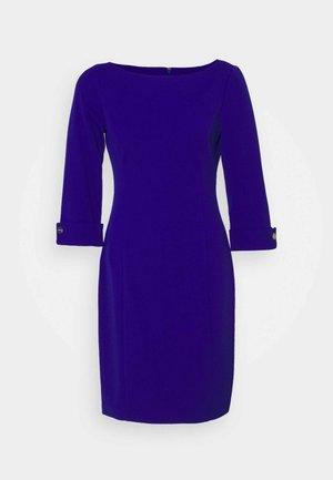 ROLL CUFF SHEATH DRE - Pouzdrové šaty - marine